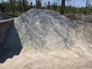 Hvide granitskærver 11-16 mm