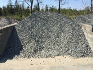 Grå granitskærver 16-32 mm