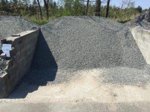 Grå granitskærver 8-11 mm