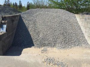 lysgrå granitskærver 11-16 mm