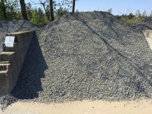 Sorte granitskærver 11-16 mm
