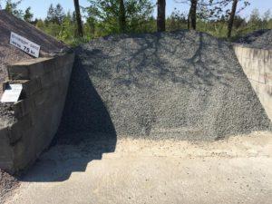 Sorte granitskærver 8-11 mm