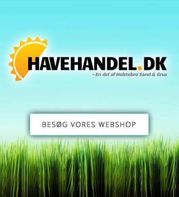 Havehandel - vores webshop