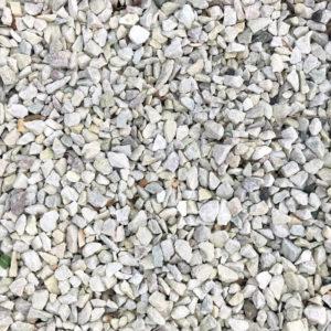hvide granitskærver 11-16 mm.