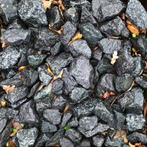 granitskærver sort 32-64 mm. DSB