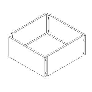 kvadratisk højbed plantegning